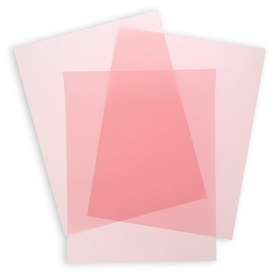 50-Sheets Blush Pink Vellum Paper for Card Making, Invitations, Scrapbooking, 8.5 X 11 inches