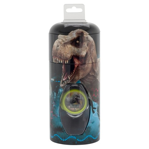 Boys' Jurassic Park Watch with Cylinder Tin Coin Bank - image 1 of 2