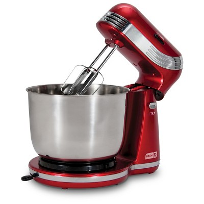 Dash Everyday 3qt Stand Mixer - Red