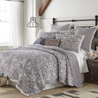 Coronado Floral Quilt and Pillow Sham Set - Levtex Home
