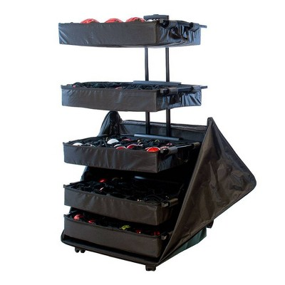 TreeKeeper 5 Tray Adjustable Telescoping Ornament Storage Bag