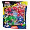 Heroes of Goo Jit Zu Marvel Hero 4-Pack - image 4 of 4