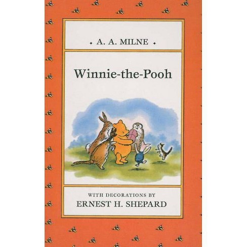 Winnie-The-Pooh - by  A A Milne (Hardcover) - image 1 of 1