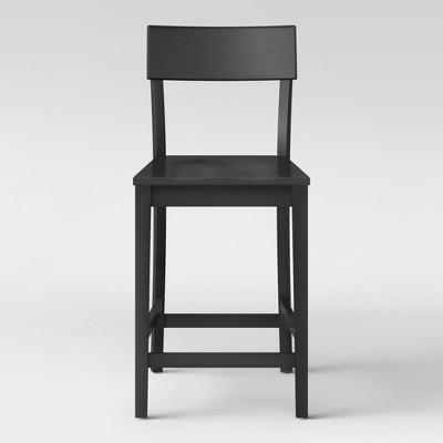 24  Modern Painted Barstool Black - Project 62™