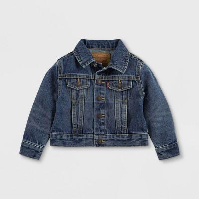 Levi's® Baby Medium Wash Trucker Jacket - Blue 9M
