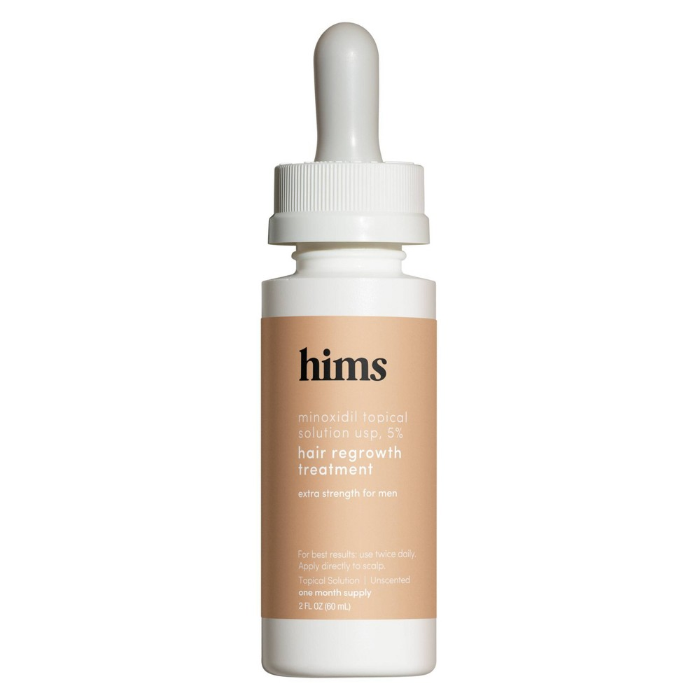 Image of hims Minoxidil - Extra Strength Topical Hair Regrowth Solution for Men - 2 fl oz