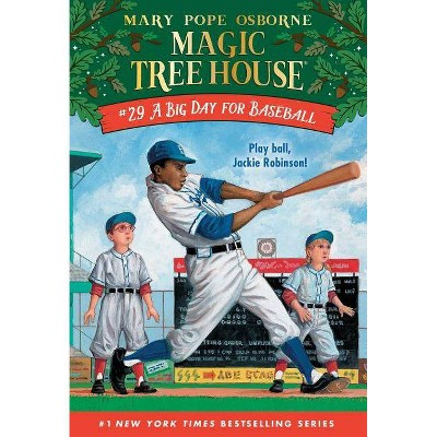 Big Day for Baseball -  Reprint (Magic Tree House) by Mary Pope Osborne (Paperback)