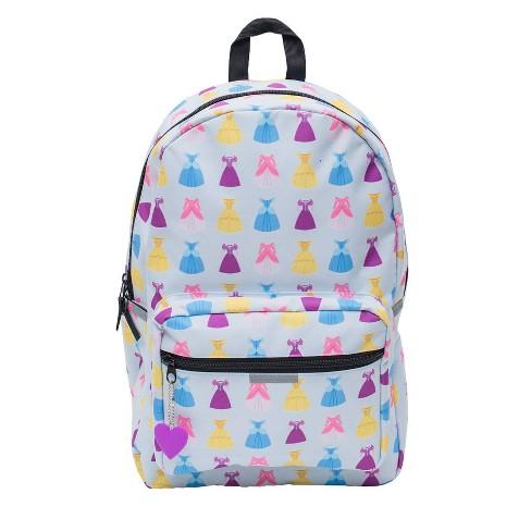 """Disney 18"""" Princess Dresses Kids' Backpack - image 1 of 10"""