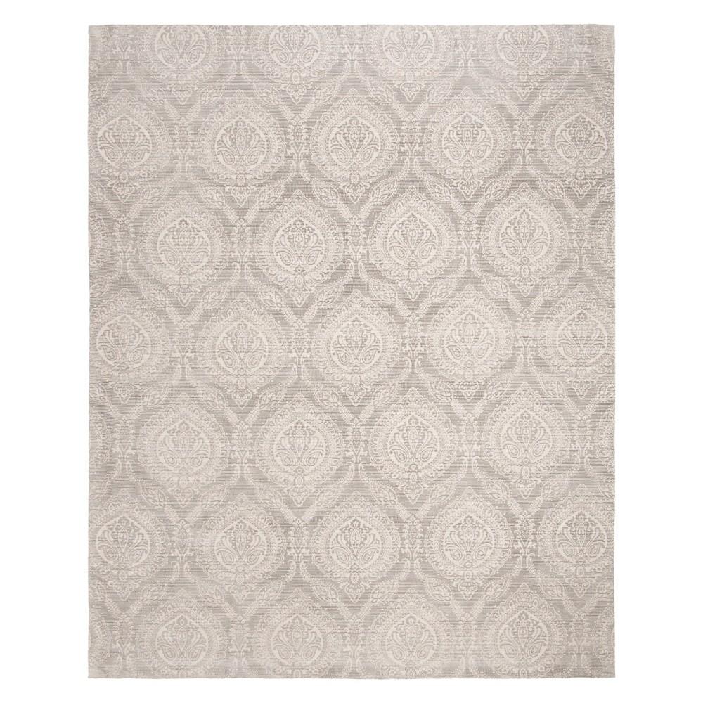 8'X10' Paisley Area Rug Taupe/Ivory (Brown/Ivory) - Safavieh