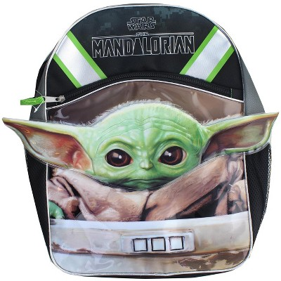 Fast Forward Star Wars The Mandalorian The Child w/ 3D Ears 16 Inch Backpack