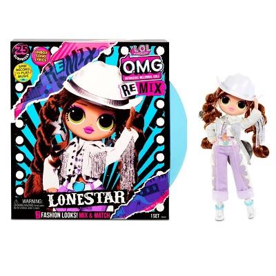 L.O.L. Surprise! O.M.G. Remix Lonestar Fashion Doll – 25 Surprises with Music