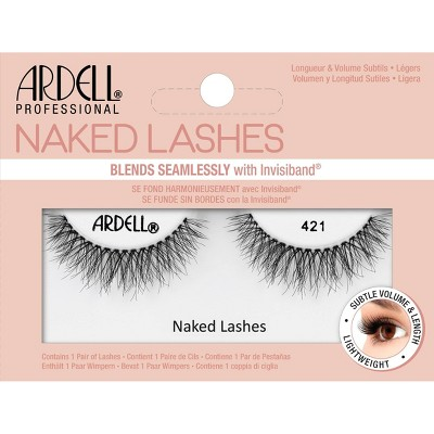 Ardell Naked 421 False Eyelashes - Black