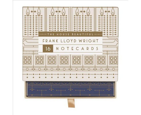Frank Lloyd Wright the House Beautiful Greeting Assortment (Stationery) - image 1 of 1