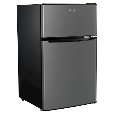Whirlpool 3.1 cu ft Mini Refrigerator - Stainless Steel BCD-88V