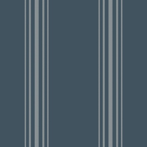Wallpaper Stripes Navy Hearth Hand With Magnolia