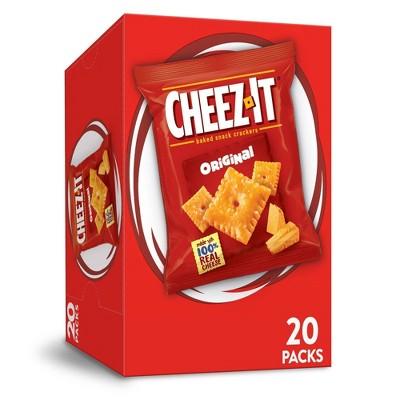Cheez-It Original Baked Snack Crackers - 1oz - 20ct