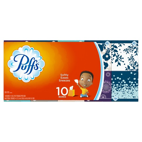 Puffs Facial Tissue - 10pk - image 1 of 10