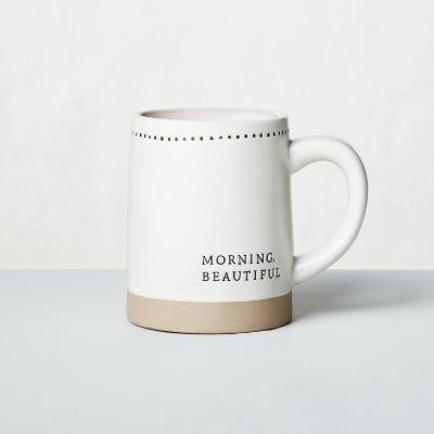 'Morning Beautiful' Stoneware Mug - Hearth & Hand™ with Magnolia