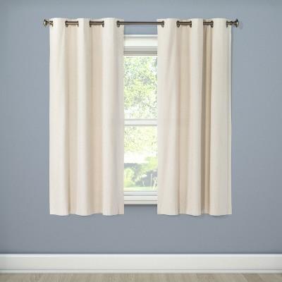 Windsor Light Blocking Curtain Panel Cream (42 x84 )- Eclipse™