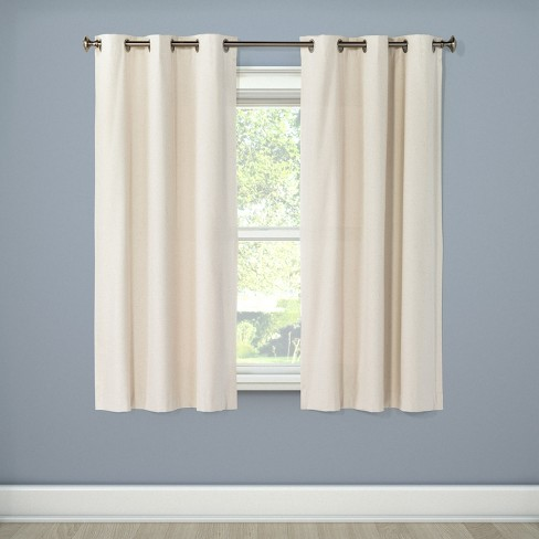 Windsor Light Blocking Curtain Panel Cream 42 Quot X63