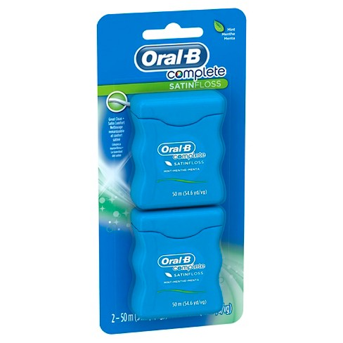Oral-B Complete SatinFloss Mint Dental Floss - 100m - image 1 of 2