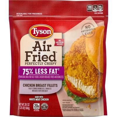 Tyson Air Fried Chicken Fillets - Frozen - 20oz