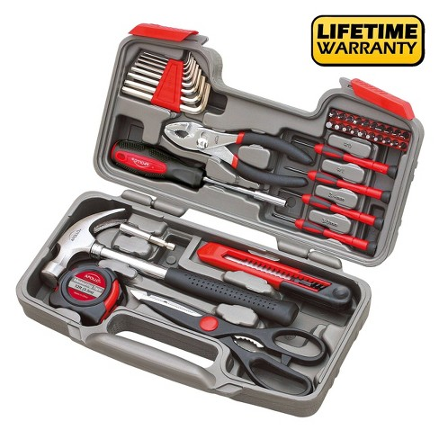 Apollo Tools 39pc DT9706 General Tool Kit - image 1 of 4