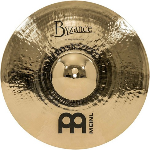 Meinl Byzance Brilliant Heavy Hammered Ride Cymbal 22 in. - image 1 of 4