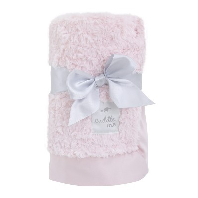 NoJo Cuddle Me Luxury Plush Blanket - Pink