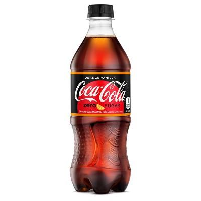 Coca-Cola Orange Vanilla - 20 fl oz Bottle