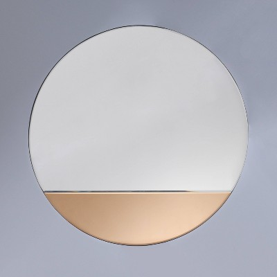 """23.5""""x23.5"""" Tinted Mirror Gold - Project 62™"""