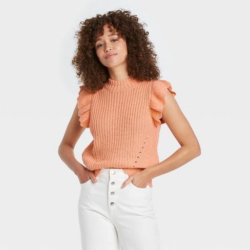 Women's Crewneck Sweater Vest - Universal Thread™ - image 1 of 3