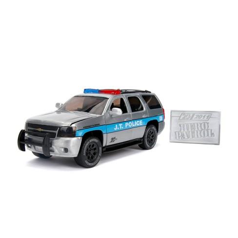 Jada Toys 20th Anniversary Hero Patrol 2010 Chevy Tahoe Die-Cast Vehicle with Mosiac Die-Cast Tile 1:24 Scale Brush Raw Metal - image 1 of 4