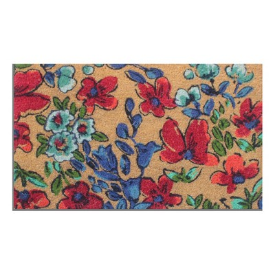 Floral Doormat - 18 x30  - Threshold™
