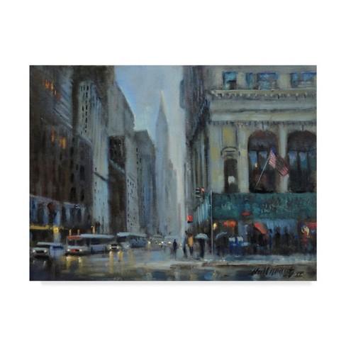 "Trademark Fine Art 32"" x 24"" Hall Groat II 'Chrysler Building, Manhattan' Canvas Art - image 1 of 3"
