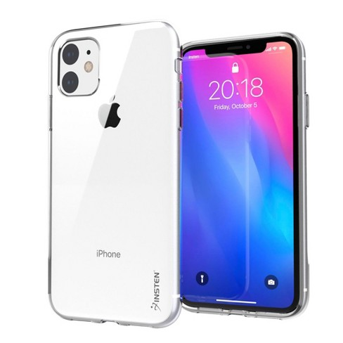"""Insten Crystal Clear Case Ultra Slim Soft TPU Protective Cover for iPhone 11 6.1"""" 2019 Support Wireless Charging - image 1 of 3"""