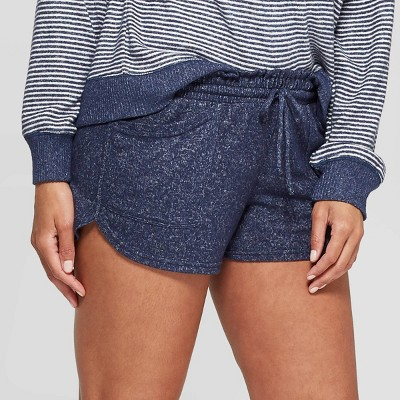 Women's Perfectly Cozy Lounge Pajama Shorts - Stars Above™ Navy L