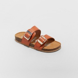 Girls' Mad Love Scarlett Comfort Footbed Sandals - Cognac