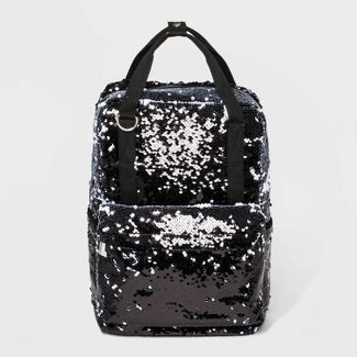Reversible Sequin Backpack - Wild Fable™ Black
