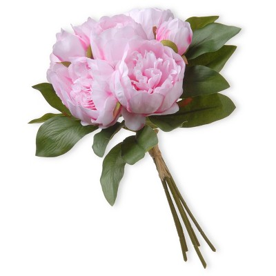 Artificial Peony Bundle Pink 12  - National Tree Company®
