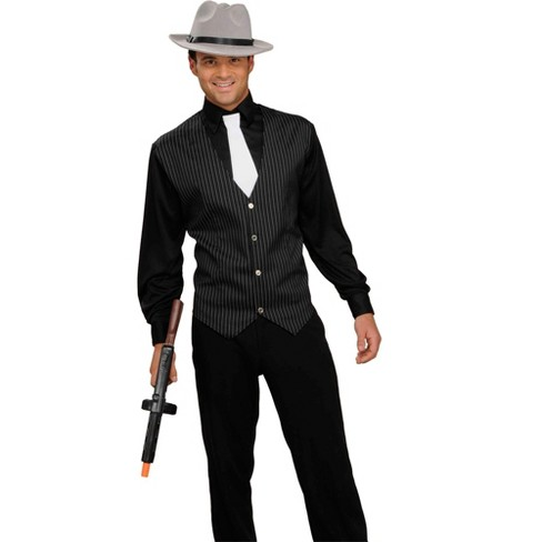 Forum Novelties 20s Gangster Shirt, Vest and Tie Adult - image 1 of 1