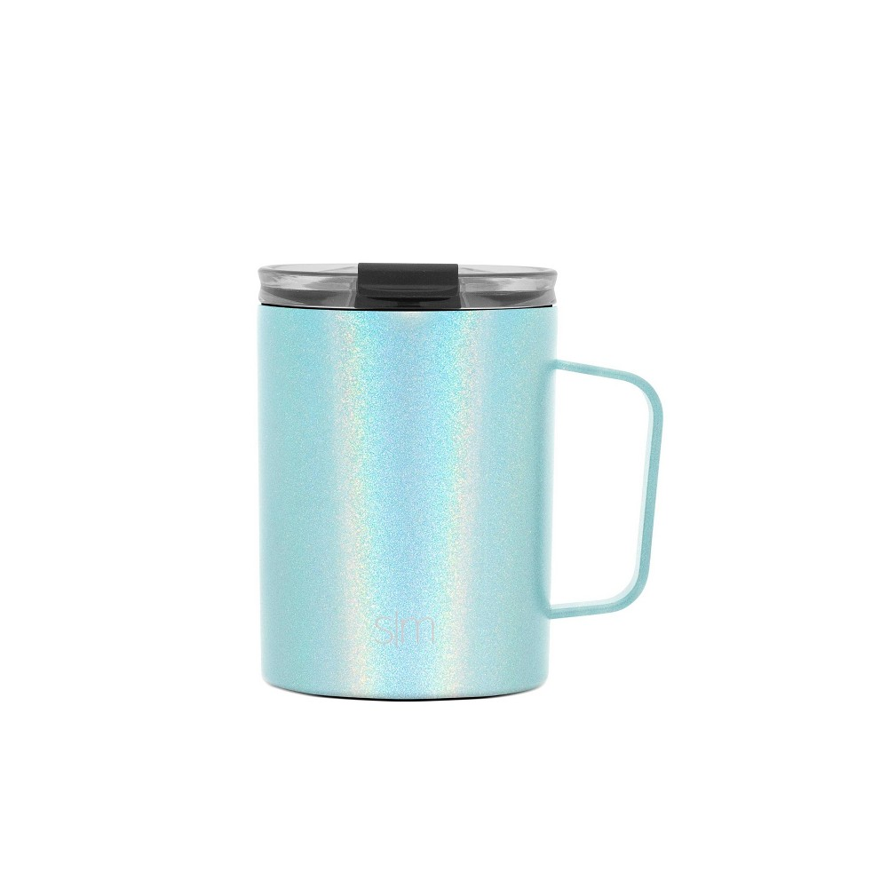 Image of Simple Modern 12oz Stainless Steel Rainbow Paint Scout Coffee Mug Teal