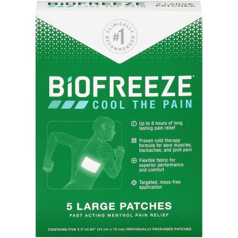 Biofreeze Pain Relieving Patch - 5pk - image 1 of 3