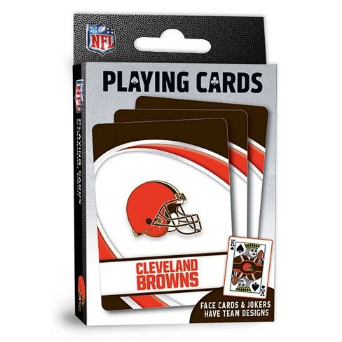 NFL Cleveland Browns Playing Cards - image 1 of 4