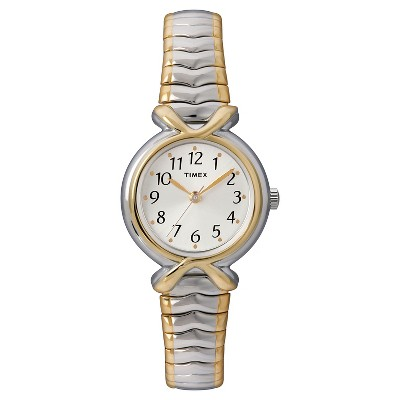 Women's Timex Expansion Band Watch - Two-Tone T218549J