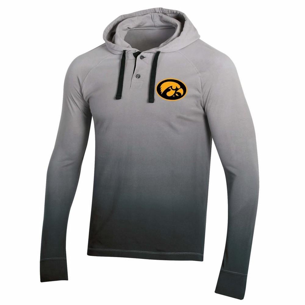 NCAA Men's Long Sleeve Lightweight Hoodie Iowa Hawkeyes - M, Multicolored