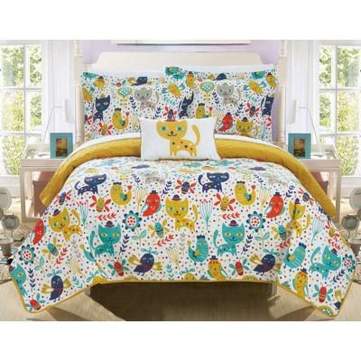 3pc Twin Wymper Quilt Set Yellow - Chic Home Design