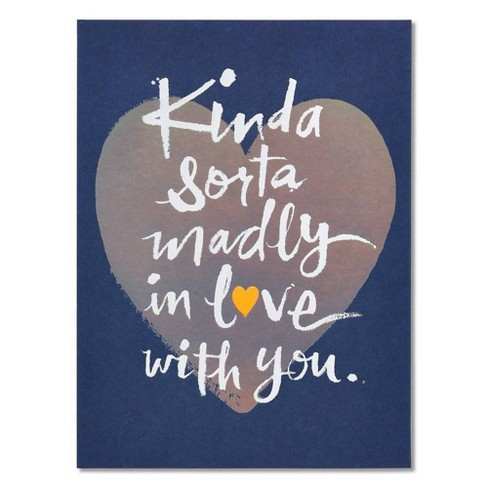 """""""Madly in Love"""" Father's Day Card with Foil - image 1 of 4"""