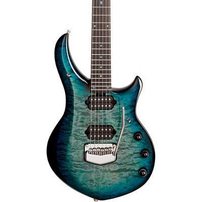 Ernie Ball Music Man Majesty 6 Quilt Top Electric Guitar Hydrospace