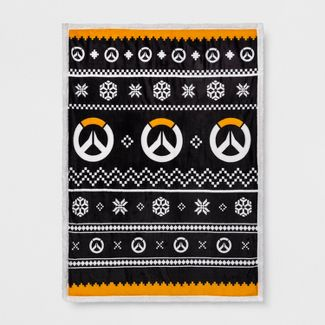 Overwatch Ugly Sweater Throw